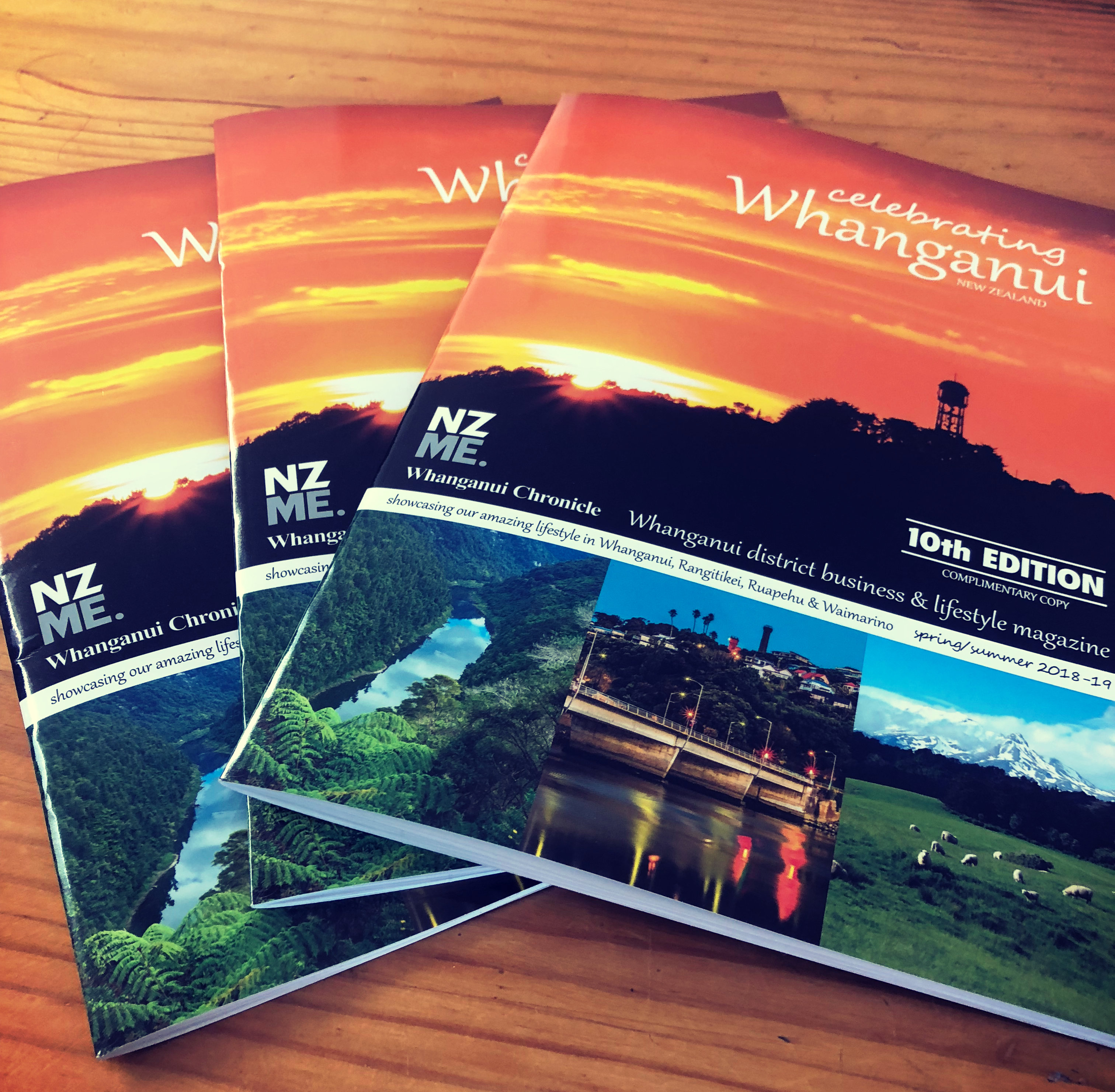 "WHANGANUI CHRONICLE ""CELEBRATING WHANGANUI"" 10th EDITION MAGAZINE"